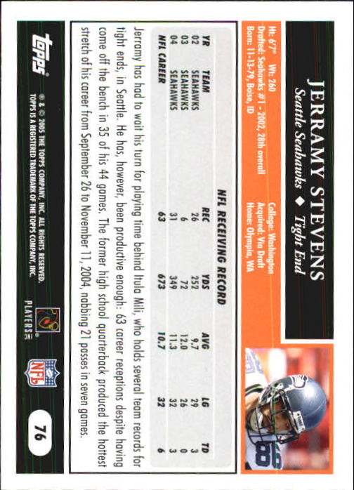 2005-Topps-First-Edition-Football-Card-Pick-1-301 thumbnail 125