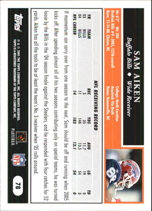 2005-Topps-First-Edition-Football-Card-Pick-1-301 thumbnail 129