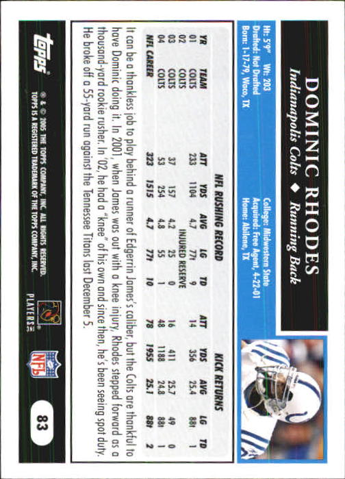 2005-Topps-First-Edition-Football-Card-Pick-1-301 thumbnail 139