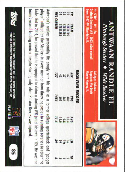 2005-Topps-First-Edition-Football-Card-Pick-1-301 thumbnail 143