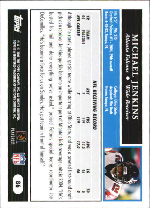 2005-Topps-First-Edition-Football-Card-Pick-1-301 thumbnail 145
