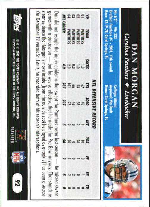 2005-Topps-First-Edition-Football-Card-Pick-1-301 thumbnail 155