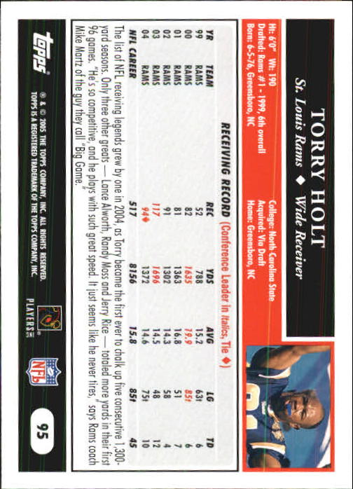 2005-Topps-First-Edition-Football-Card-Pick-1-301 thumbnail 161