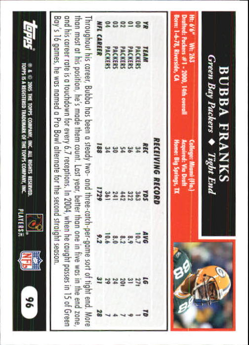 2005-Topps-First-Edition-Football-Card-Pick-1-301 thumbnail 163