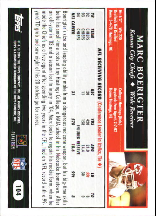 2005-Topps-First-Edition-Football-Card-Pick-1-301 thumbnail 175