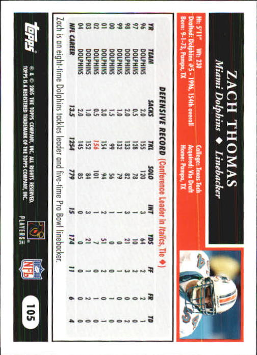 2005-Topps-First-Edition-Football-Card-Pick-1-301 thumbnail 177