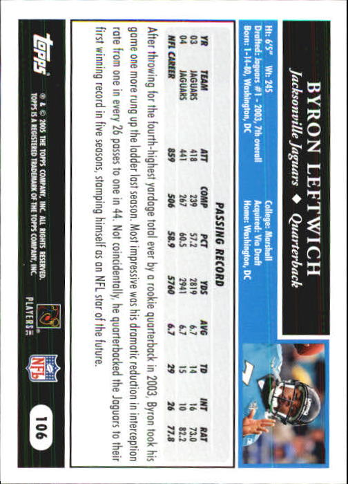 2005-Topps-First-Edition-Football-Card-Pick-1-301 thumbnail 179