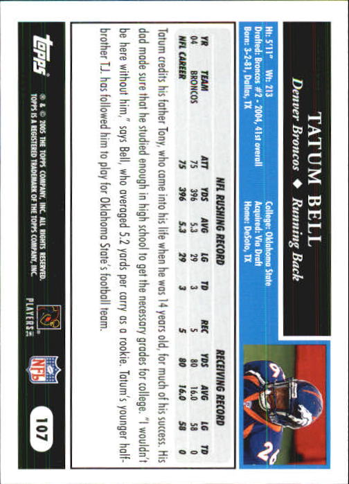 2005-Topps-First-Edition-Football-Card-Pick-1-301 thumbnail 181
