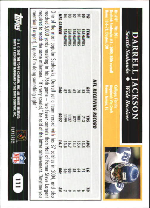 2005-Topps-First-Edition-Football-Card-Pick-1-301 thumbnail 189
