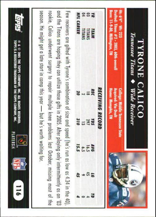 2005-Topps-First-Edition-Football-Card-Pick-1-301 thumbnail 197