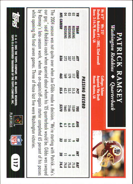 2005-Topps-First-Edition-Football-Card-Pick-1-301 thumbnail 199