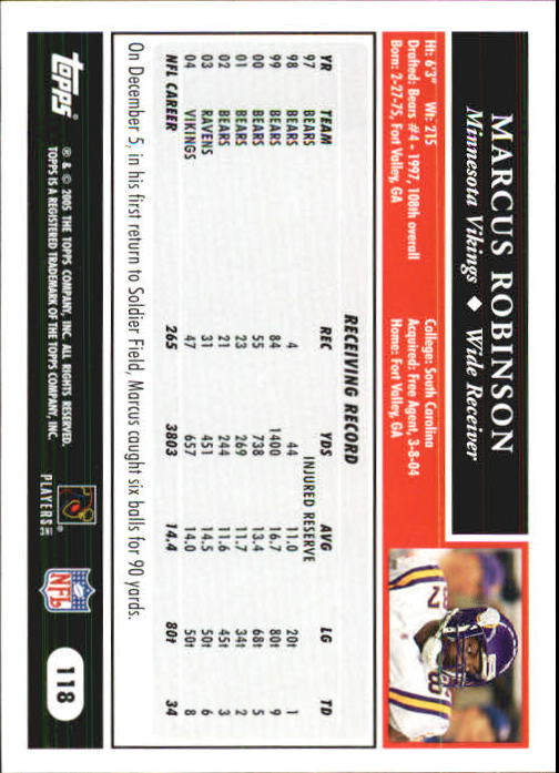 2005-Topps-First-Edition-Football-Card-Pick-1-301 thumbnail 201