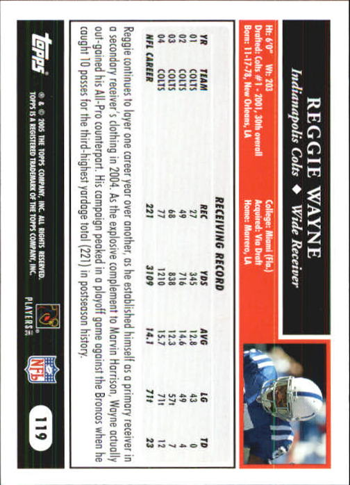 2005-Topps-First-Edition-Football-Card-Pick-1-301 thumbnail 203