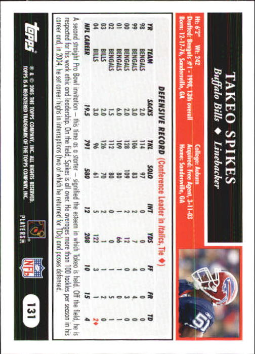 2005-Topps-First-Edition-Football-Card-Pick-1-301 thumbnail 223