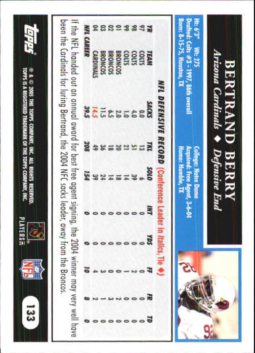 2005-Topps-First-Edition-Football-Card-Pick-1-301 thumbnail 227