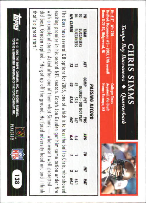 2005-Topps-First-Edition-Football-Card-Pick-1-301 thumbnail 233