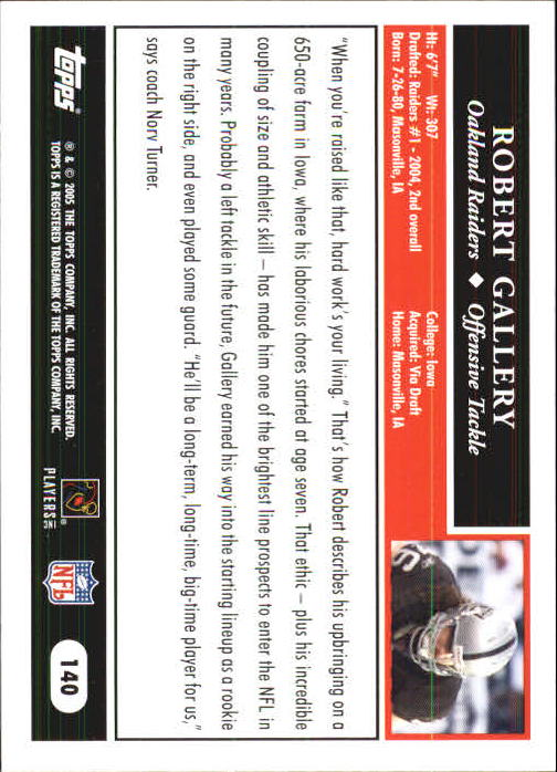 2005-Topps-First-Edition-Football-Card-Pick-1-301 thumbnail 237