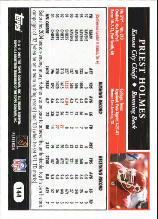 2005-Topps-First-Edition-Football-Card-Pick-1-301 thumbnail 245
