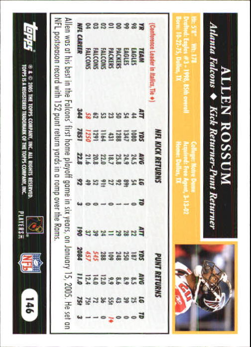 2005-Topps-First-Edition-Football-Card-Pick-1-301 thumbnail 249