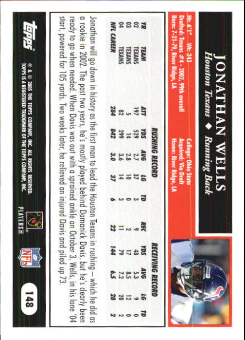 2005-Topps-First-Edition-Football-Card-Pick-1-301 thumbnail 253