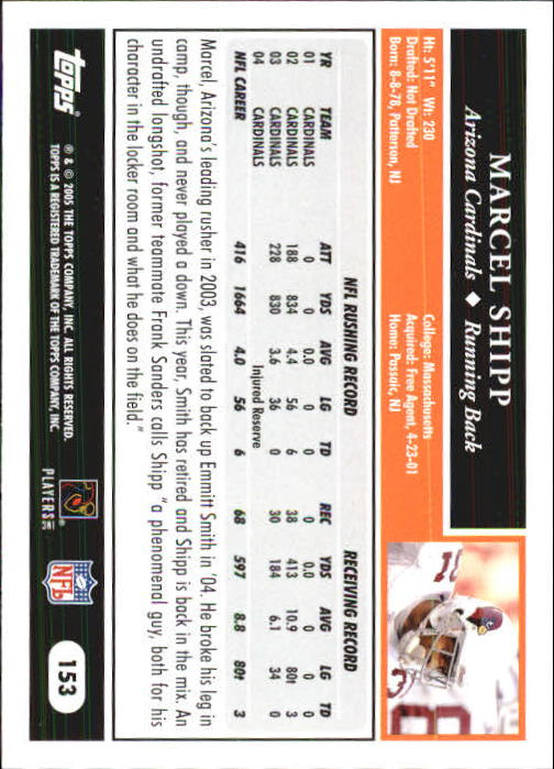 2005-Topps-First-Edition-Football-Card-Pick-1-301 thumbnail 263