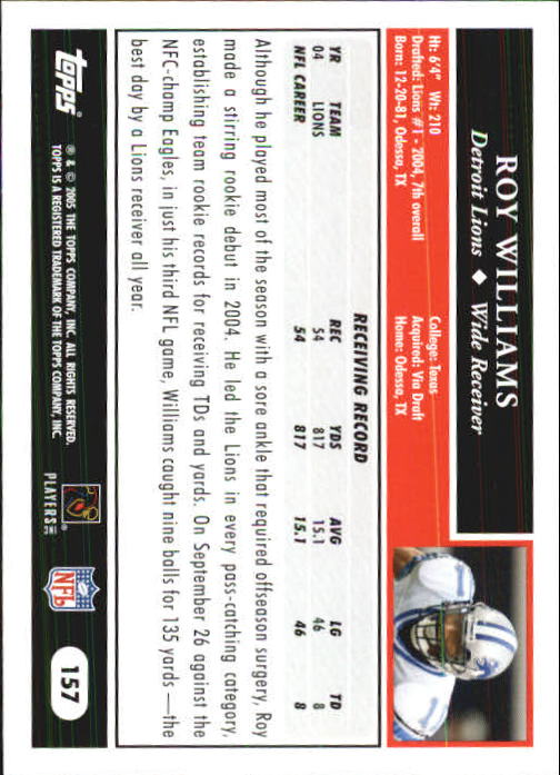 2005-Topps-First-Edition-Football-Card-Pick-1-301 thumbnail 269