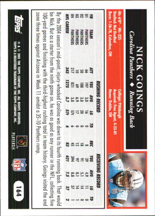 2005-Topps-First-Edition-Football-Card-Pick-1-301 thumbnail 281
