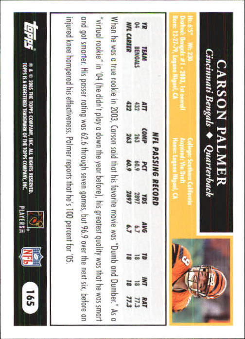 2005-Topps-First-Edition-Football-Card-Pick-1-301 thumbnail 283