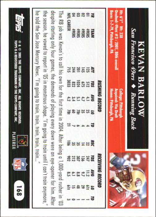 2005-Topps-First-Edition-Football-Card-Pick-1-301 thumbnail 289