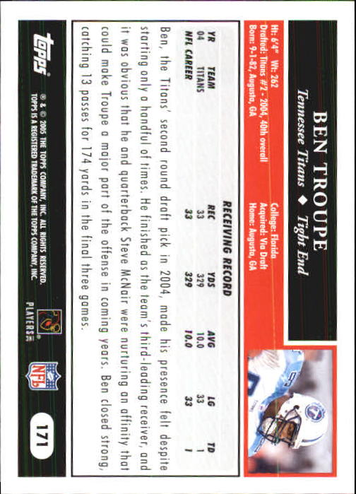 2005-Topps-First-Edition-Football-Card-Pick-1-301 thumbnail 295