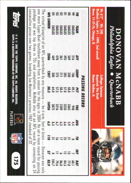2005-Topps-First-Edition-Football-Card-Pick-1-301 thumbnail 299