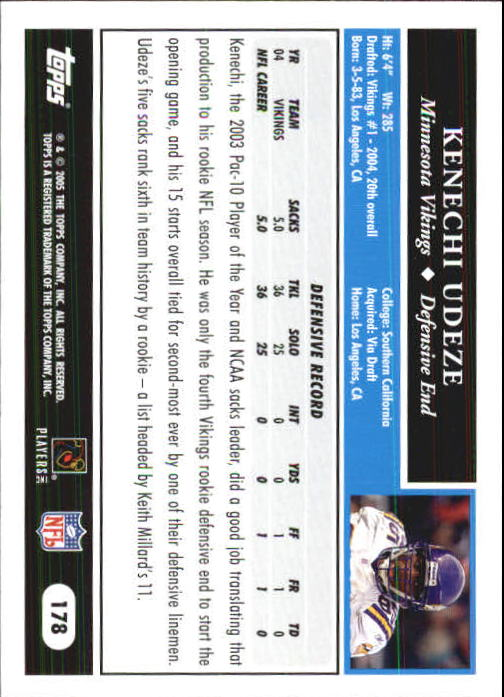2005-Topps-First-Edition-Football-Card-Pick-1-301 thumbnail 301