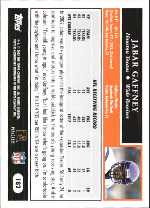 2005-Topps-First-Edition-Football-Card-Pick-1-301 thumbnail 307
