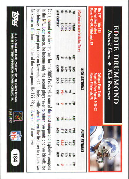 2005-Topps-First-Edition-Football-Card-Pick-1-301 thumbnail 311