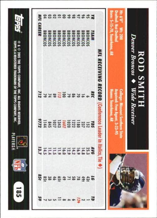 2005-Topps-First-Edition-Football-Card-Pick-1-301 thumbnail 313
