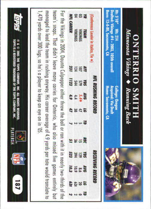 2005-Topps-First-Edition-Football-Card-Pick-1-301 thumbnail 315