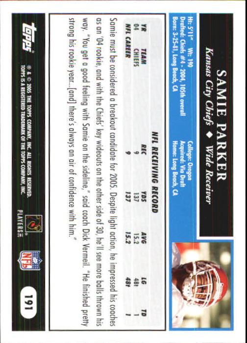 2005-Topps-First-Edition-Football-Card-Pick-1-301 thumbnail 321