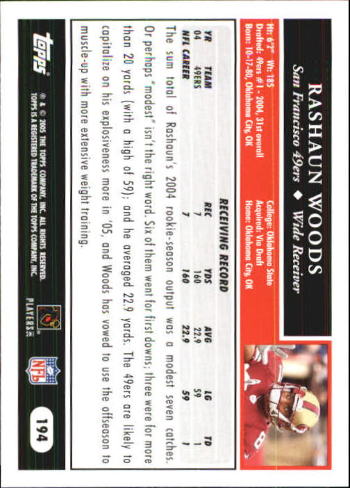 2005-Topps-First-Edition-Football-Card-Pick-1-301 thumbnail 327