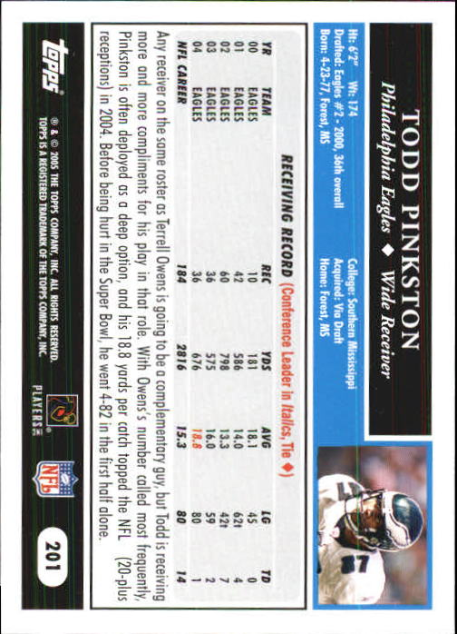 2005-Topps-First-Edition-Football-Card-Pick-1-301 thumbnail 337