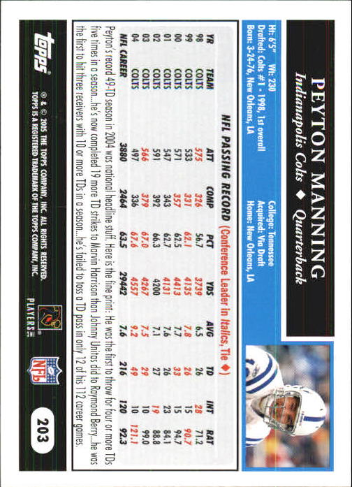 2005-Topps-First-Edition-Football-Card-Pick-1-301 thumbnail 341