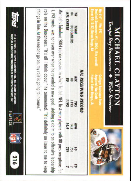 2005-Topps-First-Edition-Football-Card-Pick-1-301 thumbnail 362