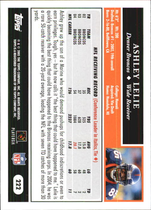 2005-Topps-First-Edition-Football-Card-Pick-1-301 thumbnail 370