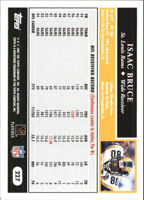 2005-Topps-First-Edition-Football-Card-Pick-1-301 thumbnail 378