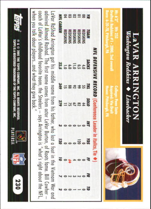 2005-Topps-First-Edition-Football-Card-Pick-1-301 thumbnail 384