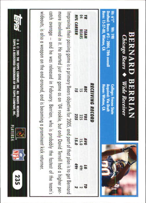 2005-Topps-First-Edition-Football-Card-Pick-1-301 thumbnail 394