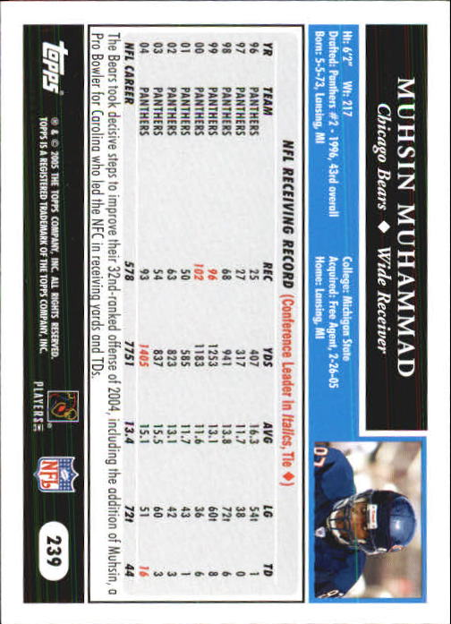 2005-Topps-First-Edition-Football-Card-Pick-1-301 thumbnail 400