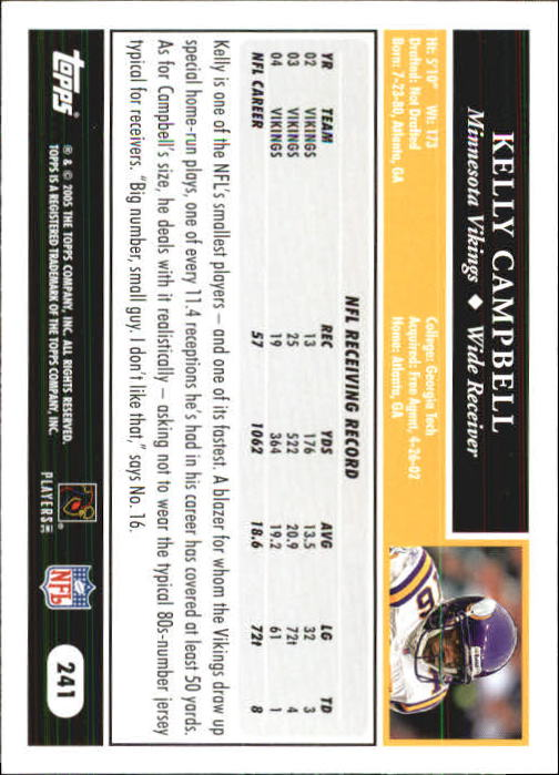 2005-Topps-First-Edition-Football-Card-Pick-1-301 thumbnail 404
