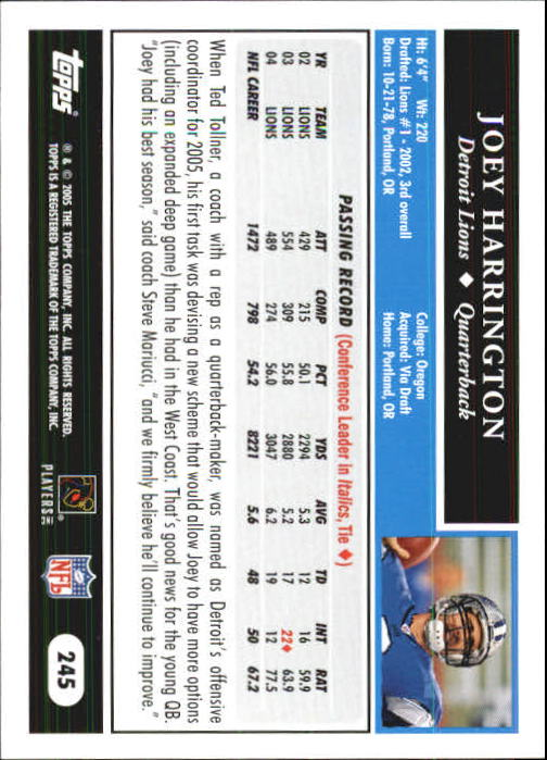2005-Topps-First-Edition-Football-Card-Pick-1-301 thumbnail 410