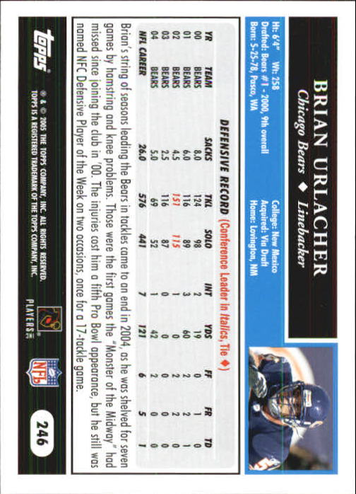 2005-Topps-First-Edition-Football-Card-Pick-1-301 thumbnail 412