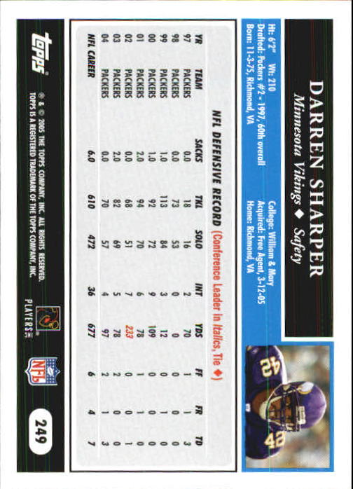 2005-Topps-First-Edition-Football-Card-Pick-1-301 thumbnail 416
